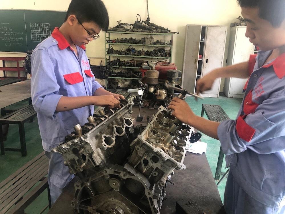 ベトナム自動車整備士イメージ03
